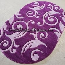 Ковер Legenda 0391 violet овал - фото №2