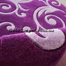 Ковер Legenda 0391 violet овал - фото №4