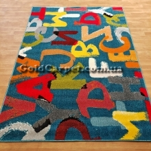 Детский ковер Kolibri 11343-140 буквы